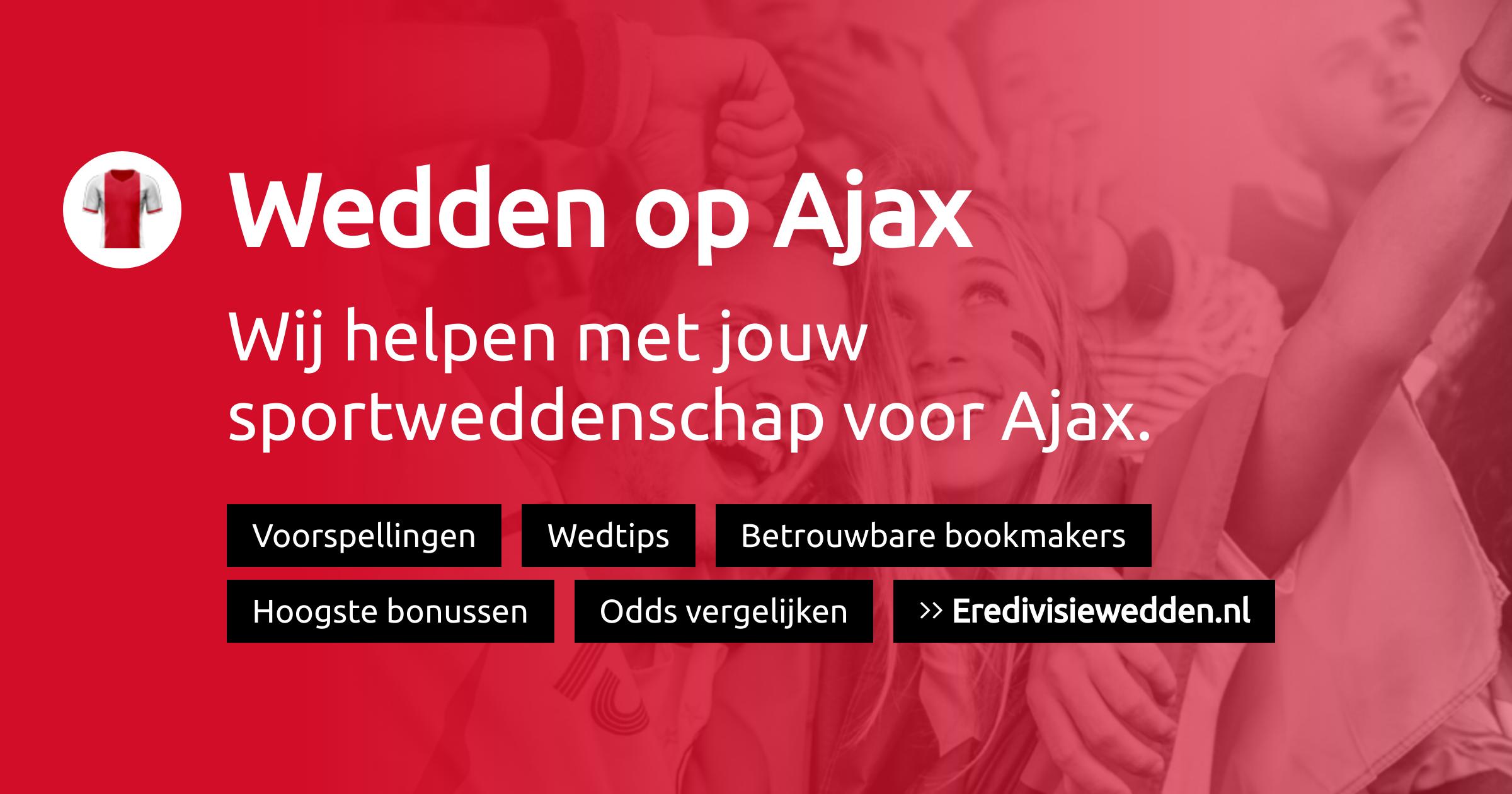 Ajax voorspellingen, promoties en bookmakers