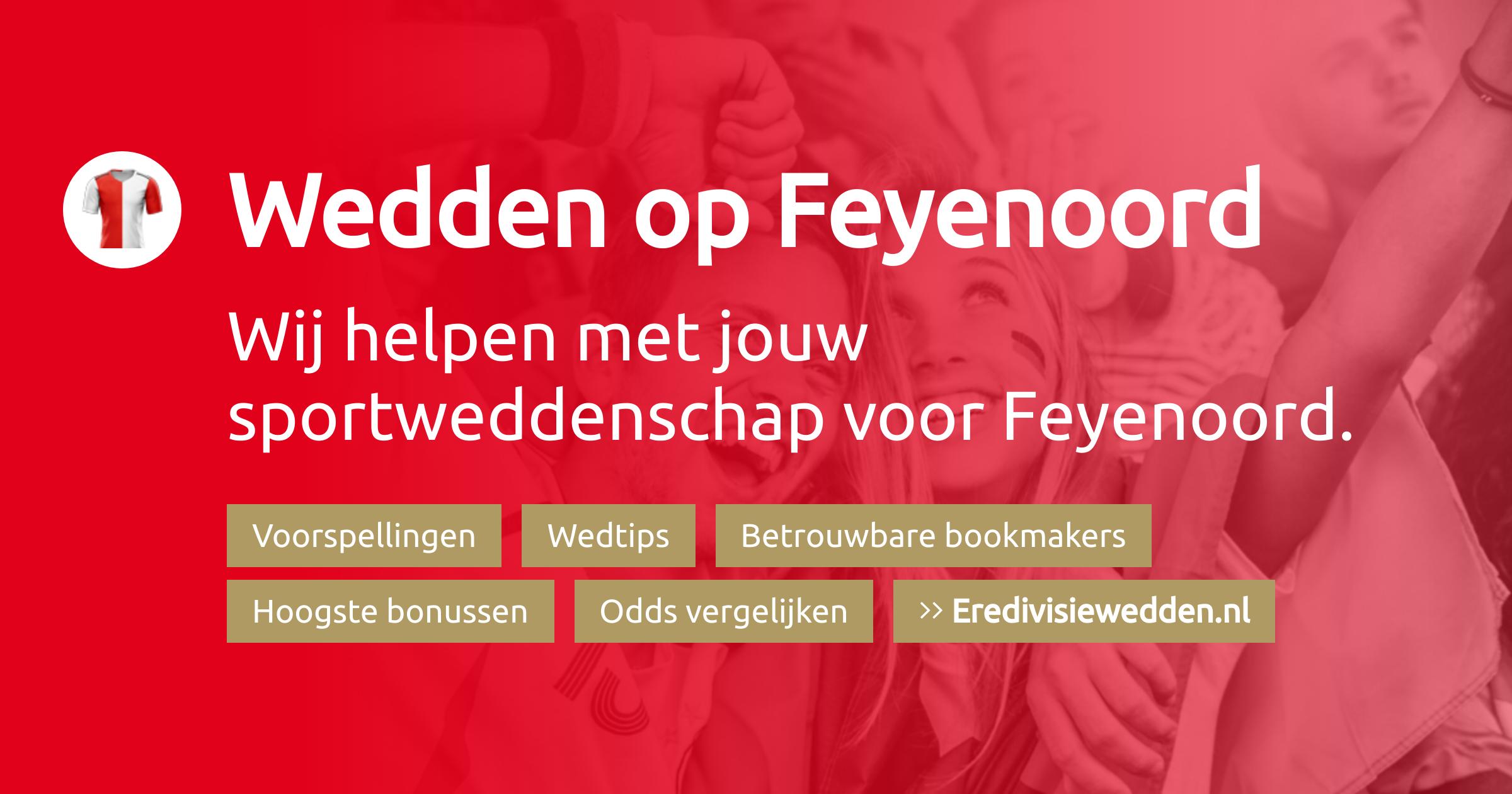 Feyenoord voorspellingen, promoties en bookmakers