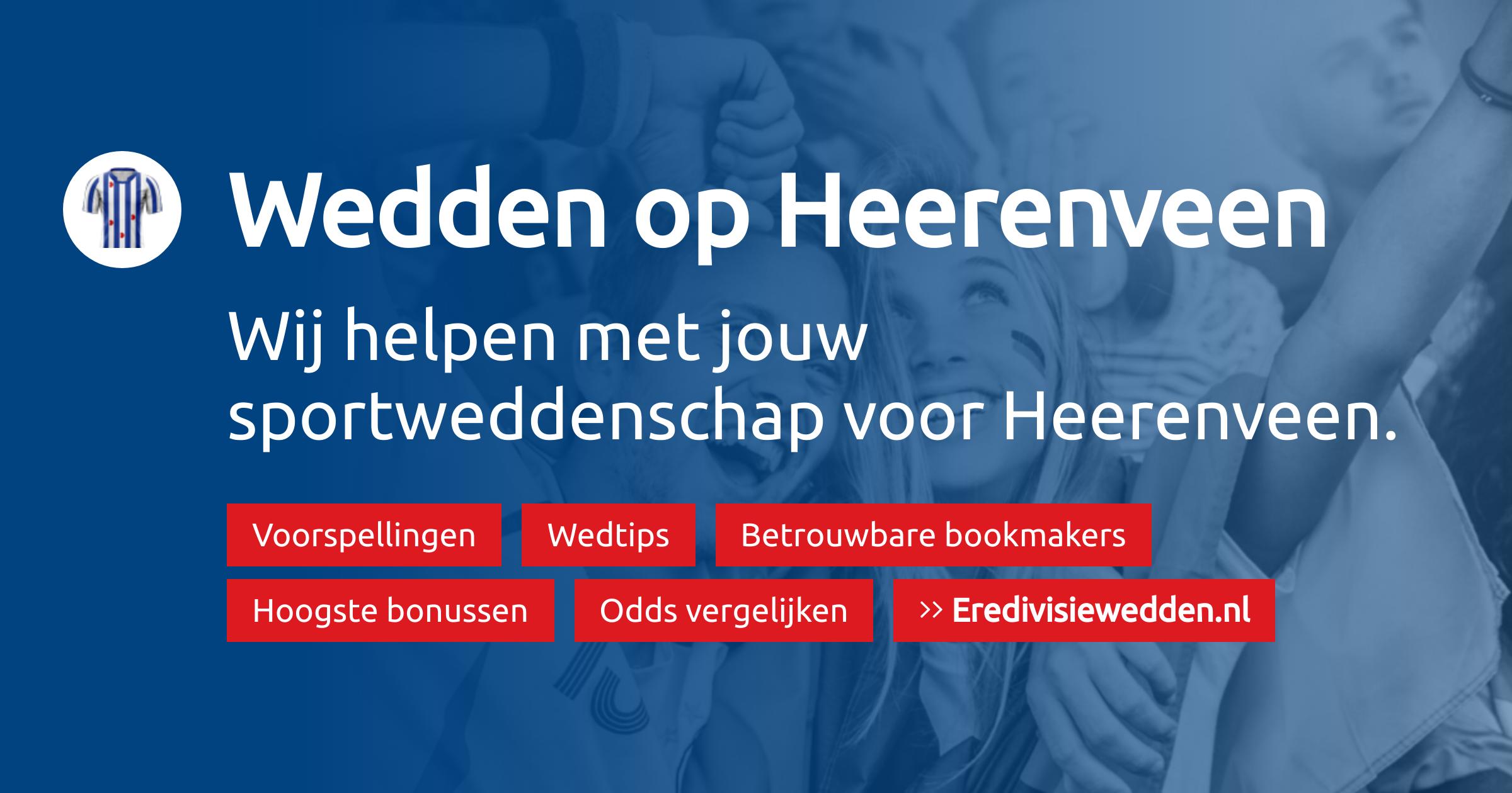 SC Heerenveen voorspellingen, promoties en bookmakers