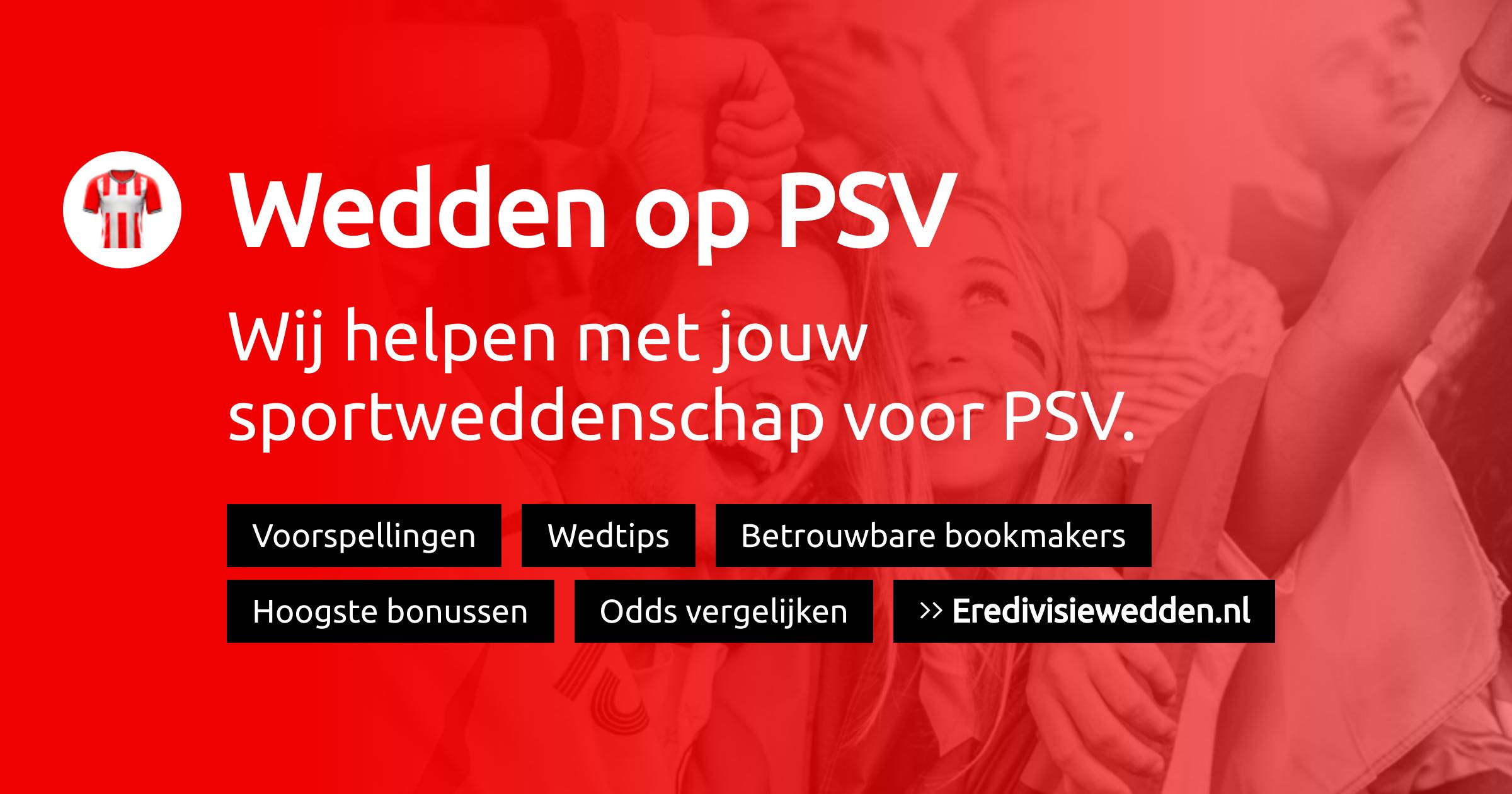 PSV Eindhoven voorspellingen, promoties en bookmakers